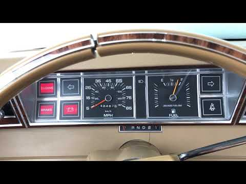 1982 Dodge Aries Cold Start (20° Fahrenheit)