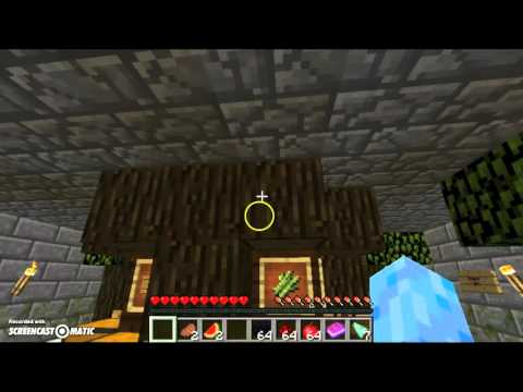 minecraft | The jungle temple map | part two