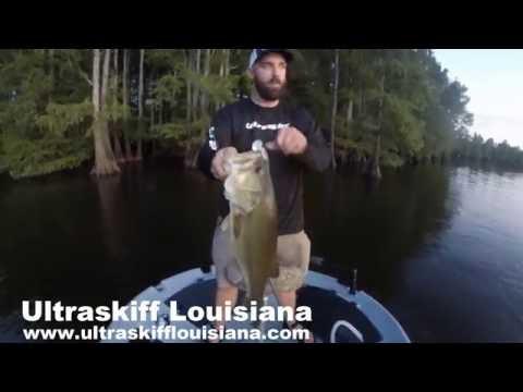 Ultraskiff of Louisiana 360 Personal Watercraft - Catching Big Bass