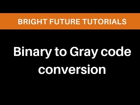 Binary To Gray Code Conversion Method
