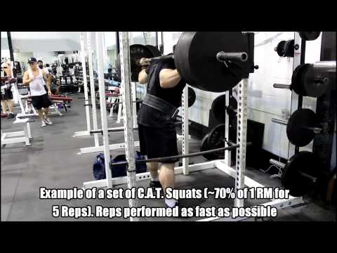 How to Increase Your Squat: Compensatory Acceleration Training