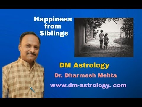 Happiness from Siblings by Dr.Dharmesh M.Mehta