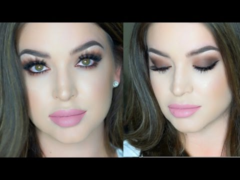 Date Night Makeup   Sultry Chocolate ∆ GRWM