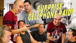 SURPRISE CELLPHONE RAID SA MGA BEKS (MAY NABUKING)   CHAD KINIS VLOG