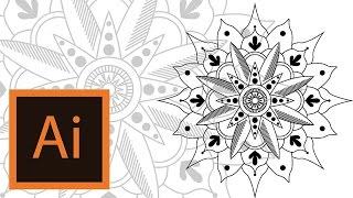Tutorial Mandala Illustrator Mandala Illustrator 2