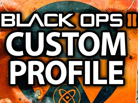 Black Ops 2 How to Customize Your Profile and Manage Files by @ItsYouTubeDude BO2 Tips, Tricks