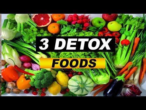 3 Amazing Detoxifying Foods That Heal Within: Secret (Detox Foods)