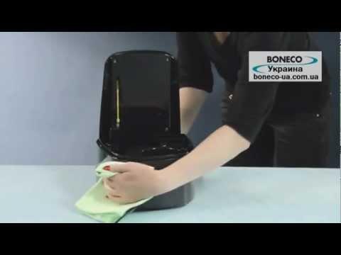 Чистка и уход за Boneco Air-O-Swiss U650 с помощью Boneco A7417