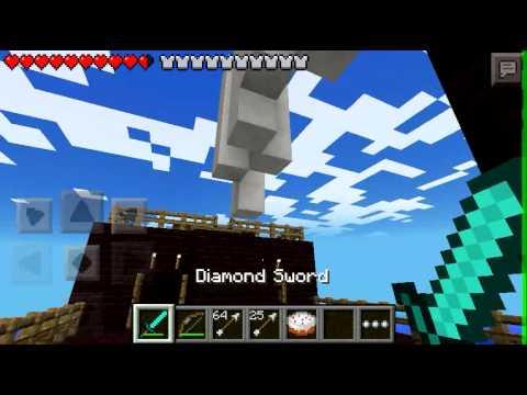 Minecraft PE---Pirate Ship Battle Episode 1