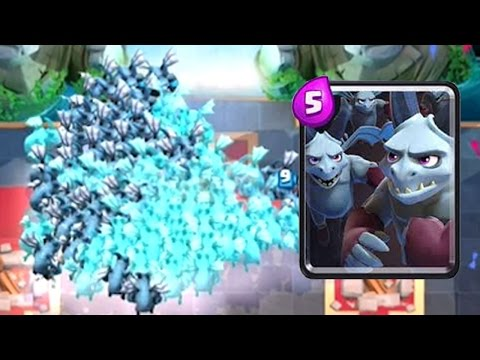 THE BIGGEST MINION HORDE EVER | Clash Royale