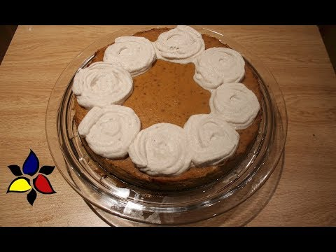 Pumpkin Pie with Cinnamon Cream (keto, sugar free, gluten free)