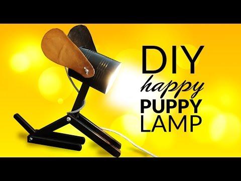 DIY Lamp for kids - DOG