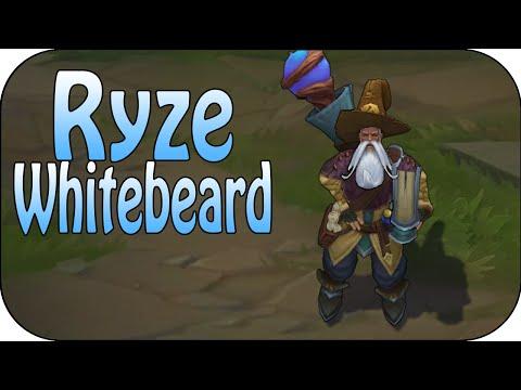 Ryze Whitebeard - Skin Spotlight - Skin Vergleich