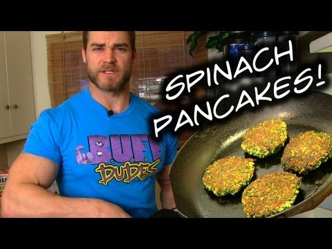 Tasty Spinach Pancakes Recipe