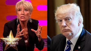 Donald Trump Asked Out Emma Thompson!   The Graham Norton Show