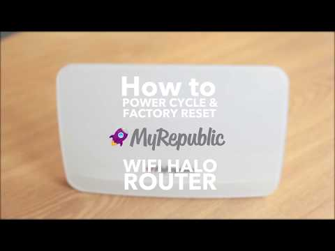 How To: Restart, Power Cycle and Factory Reset your Wi-Fi Halo