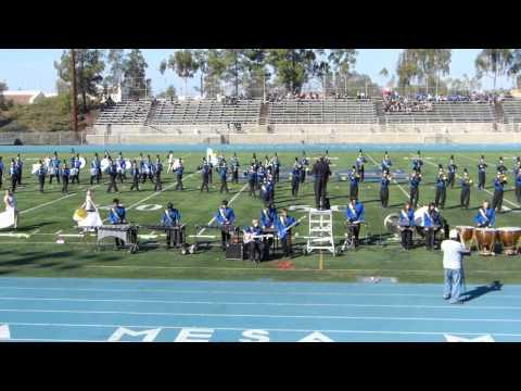 San Pasqual Field Show, Mira Mesa high school 2012