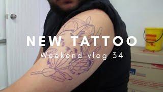 NEW TATTOOS 💉😫   Weekend Vlog 34