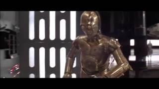 Star Wars Trash Compactor Scene