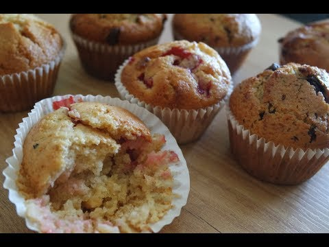 ONE MUFFIN RECIPE TWO FLAVORS | EM'S BAKING