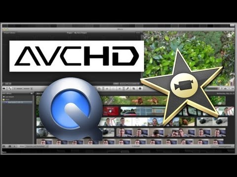 Import AVCHD Files To Use With iMovie