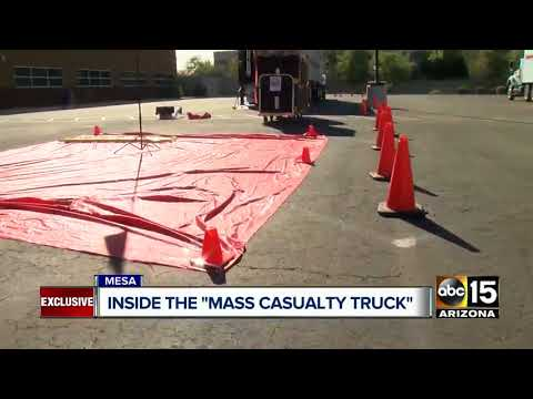 Mesa Fire Department explains importance of mass casualty treatment truck