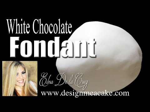 White Chocolate Fondant Recipe