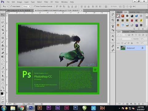 Photoshop Tutorial | How to Change Splash Screen in Photoshop CC |