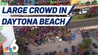 Large Crowd at Daytona Beach Street Party During Memorial Day Weekend | NBC 6