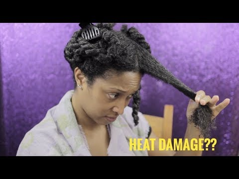 Straight to Curly | Part II | Heat Damage | Natural Hair