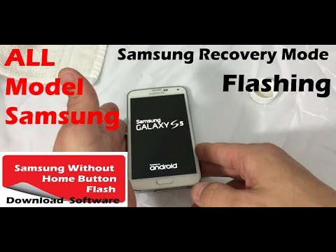 Samsung without Home Button Flash Software  Download Mode | Recovery Mode all Samsung Mobile