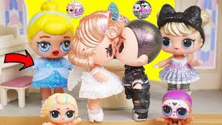 Download LOL Surprise Dolls BFFs New Doll Get Married at Princess Wedding   Toy Egg Video