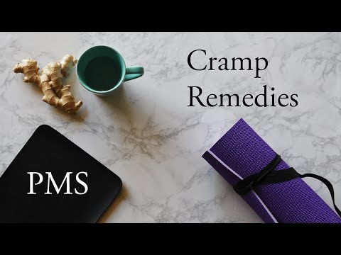 HOME REMEDIES for PAINFUL PERIOD CRAMPS | no ibuprofen