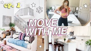 MOVE WITH ME ep.1 // im moving! + touring houses!