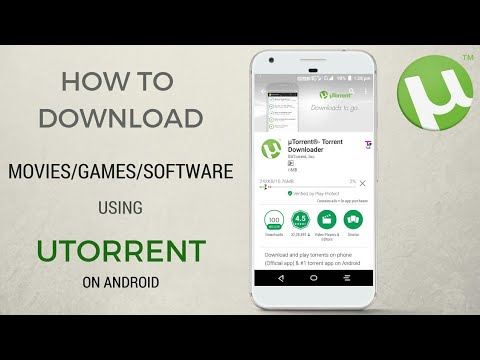 How To Download Movies For Free On Android Phones/Tablet Using uTorrent 2018
