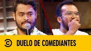 Download Cojo Feliz VS Chaparro Salazar   Duelo De Comediantes   Comedy Central LA Video