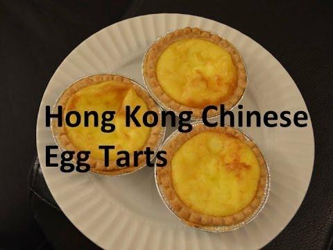 Easy 3 Ingredient Egg Tarts Hong Kong Chinese