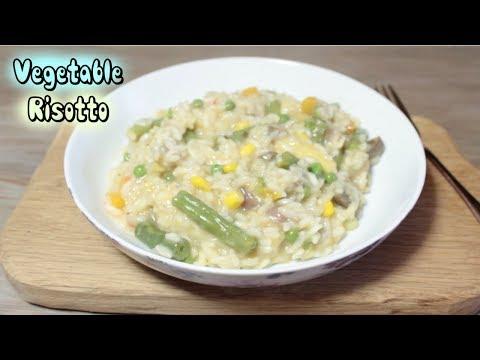 Vegetable Risotto   YUMMY VEGAN