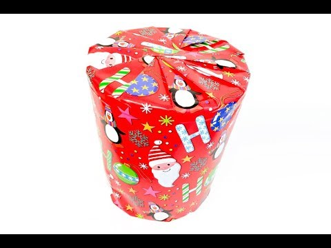 Circle Gift Wrap Challenge - Rob Wraps the Hardest Present with Paper