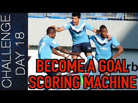 5 WAYS TO SCORE MORE GOALS IN SOCCER - SHOOTING TECHNIQUE   Day 18