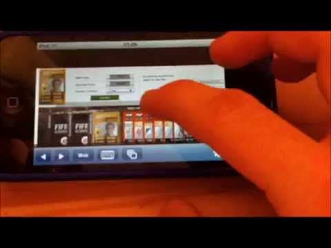 Fifa 12 Ultimate Team Web App on iPhone or iPod Touch Free [HD]