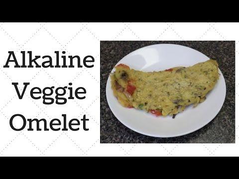 Veggie Omelet Dr.Sebi Alkaline Electric Recipe