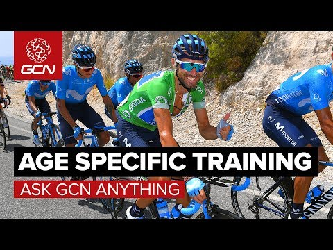 Should You Change Your Training With Age? | Ask GCN Anything