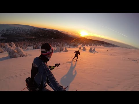 GoPro: and you still think that the cross-country skiing is boring?