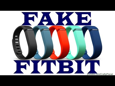 FAKE FITBIT Flex Unboxing And Review - New Fitbit Review And Warning - Fake Fitbit Counterfeit
