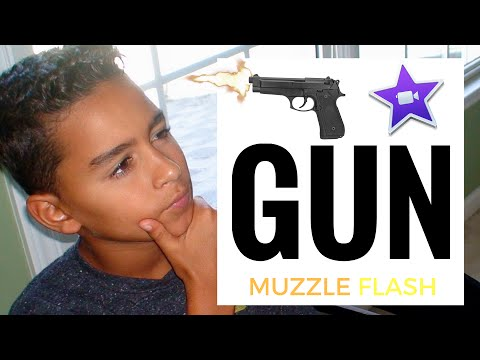 How To Make A Gunshot Effect On iMovie September 2016