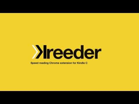 Speed reading chrome extension for Kindle Cloud Reader.