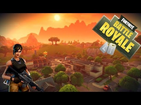 TRYING TO WIN!!! Fortnite Battle Royale #1