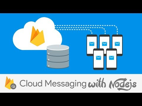 Sending Firebase Cloud Messages from a Node.js Server