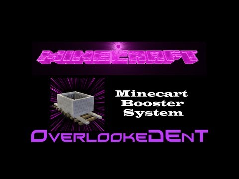 Minecart Booster System - Minecraft Xbox 360/PS3 - [Tutorial]
